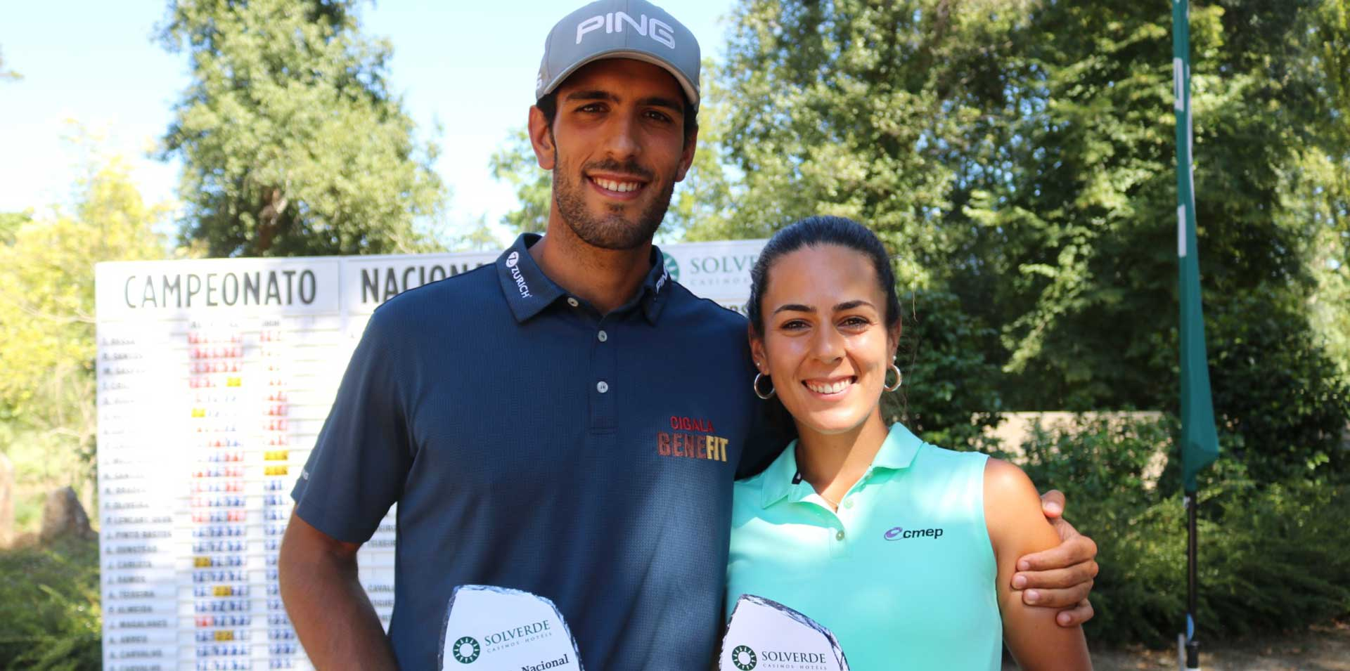 Parabéns aos Campeões Nacionais Leonor e Tomás Bessa