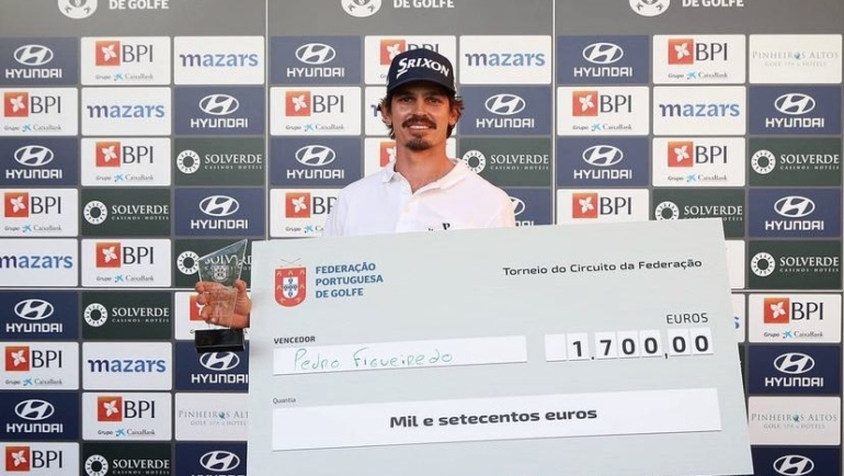 Pedro Figueiredo conquista primeiro torneio do Circuito da FPG