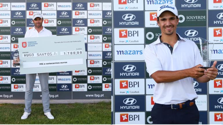 Pedro Lencart, jogador amador do CG Miramar, foi o grande vencedor do 3º Torneio do Circuito da Federação Portuguesa de Golfe