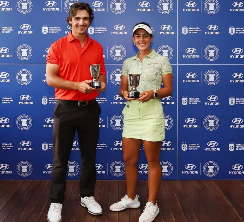 Pedro Lencart e Leonor Bessa são os novos Campeões Nacionais Profissionais 2021