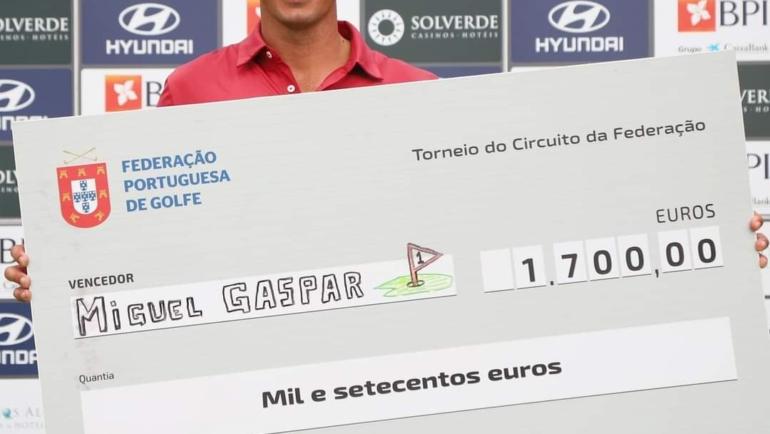 Miguel Gaspar vence o 4.º Torneio do Circuito FPG